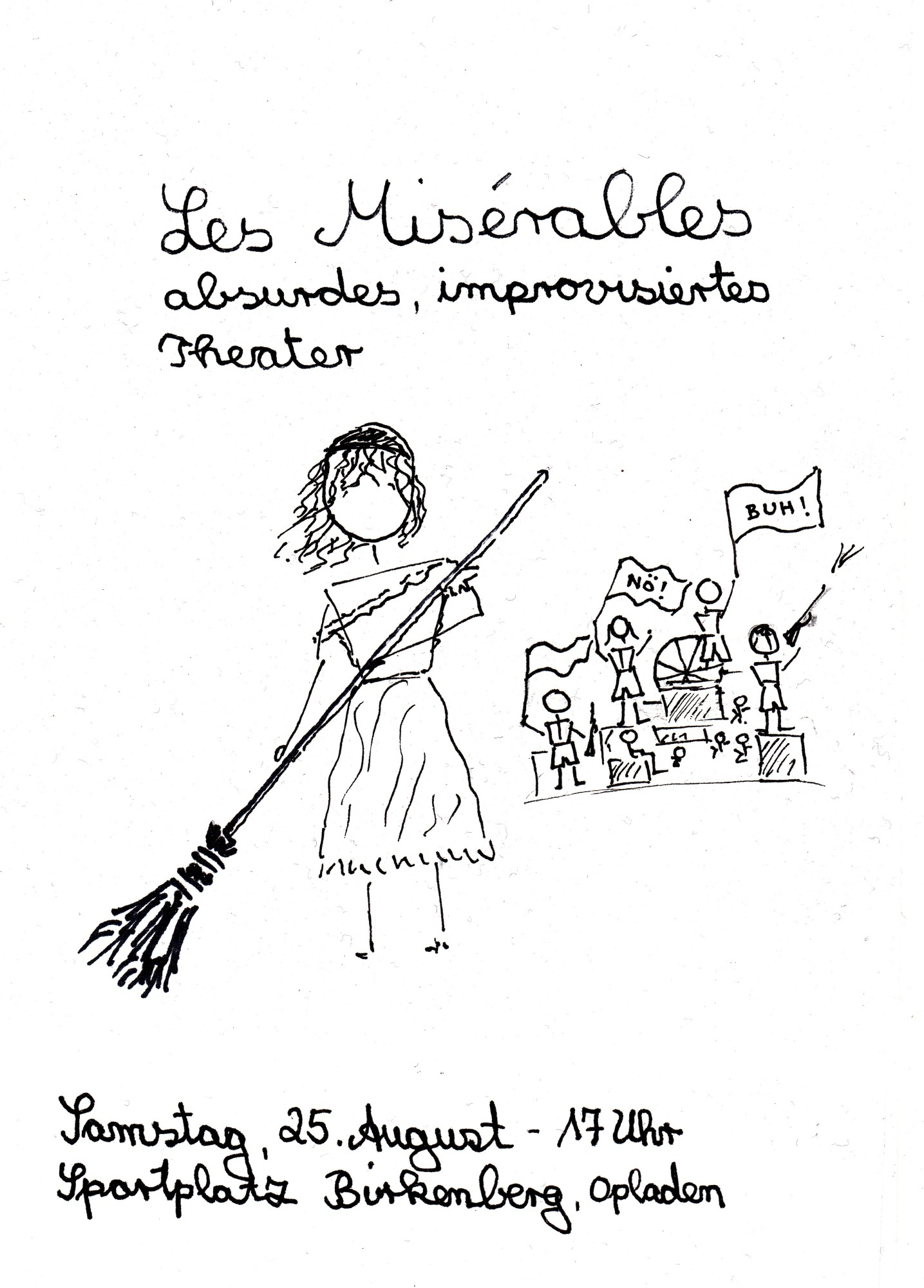 Les Mis Flyer Birkenberg