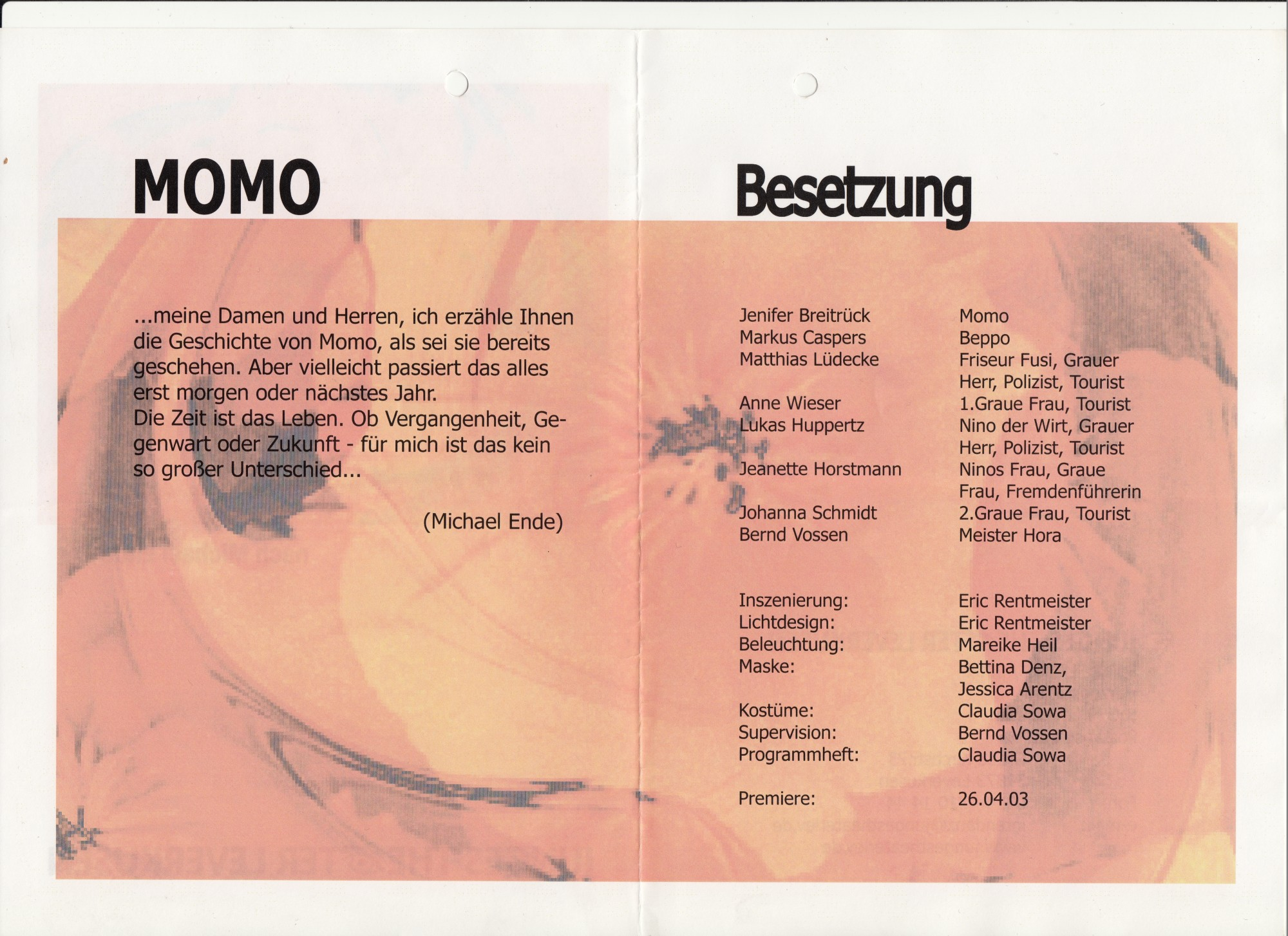 Momo Programm