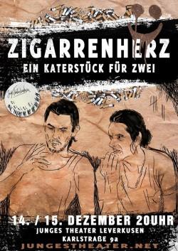 Plakat Zigarrenherz