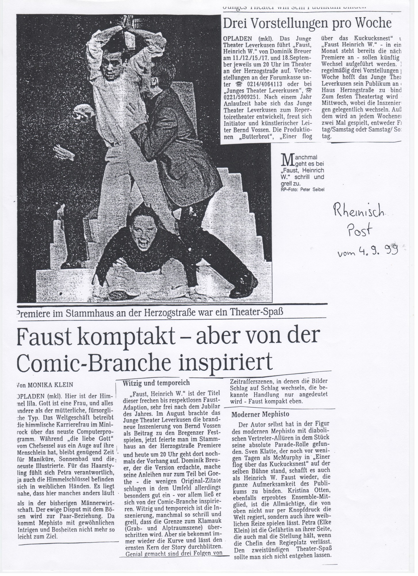 Presse Faust - Heinrich W 001