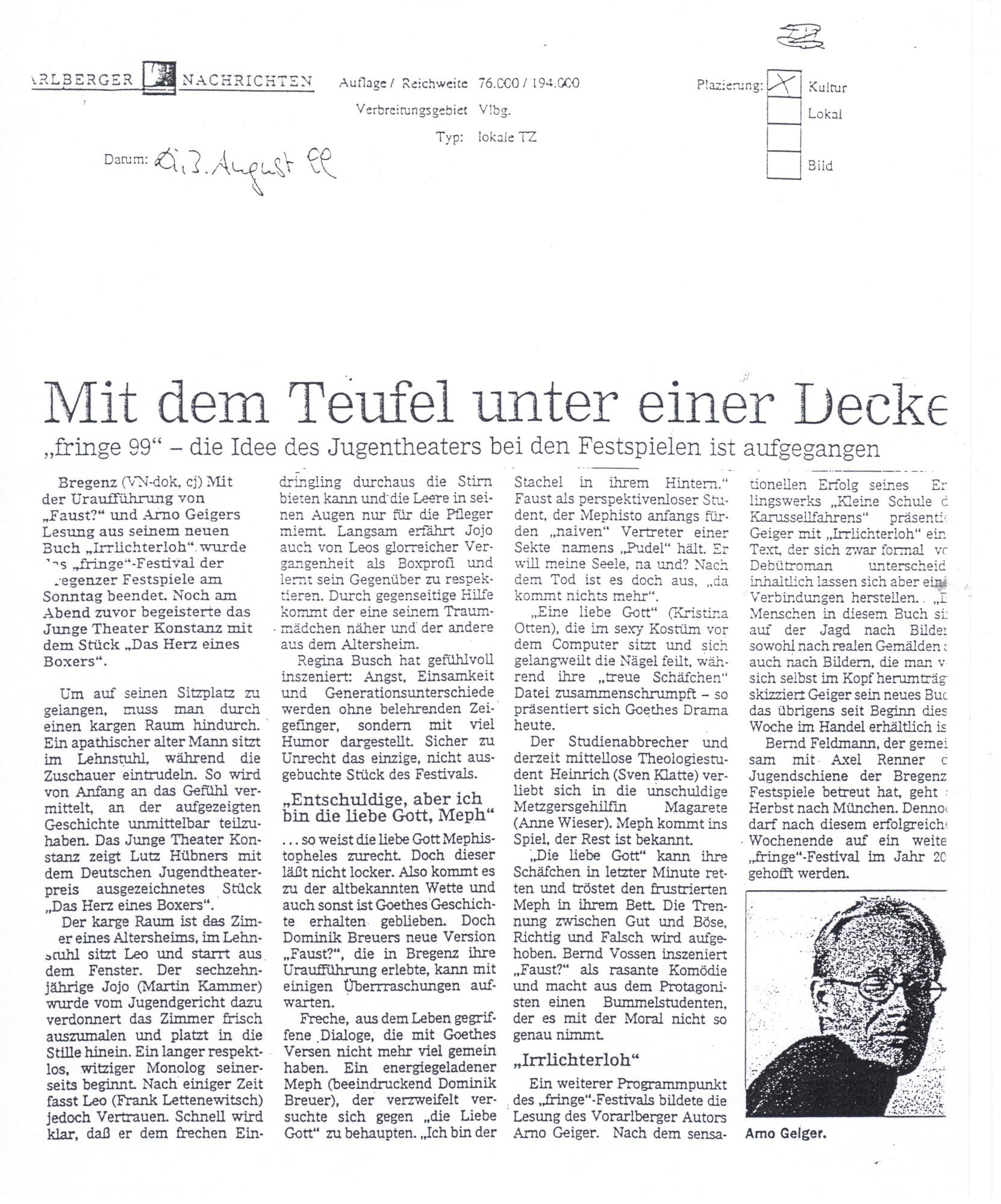 Presse Faust - Heinrich W. Bregenz 001