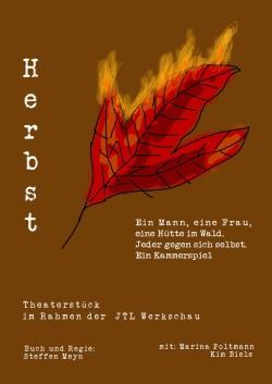 Regiewerkstatt Flyer Herbst vorderseite